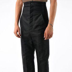 RICK OWENS High Waisted Pants DIRT 2018 SZ 50